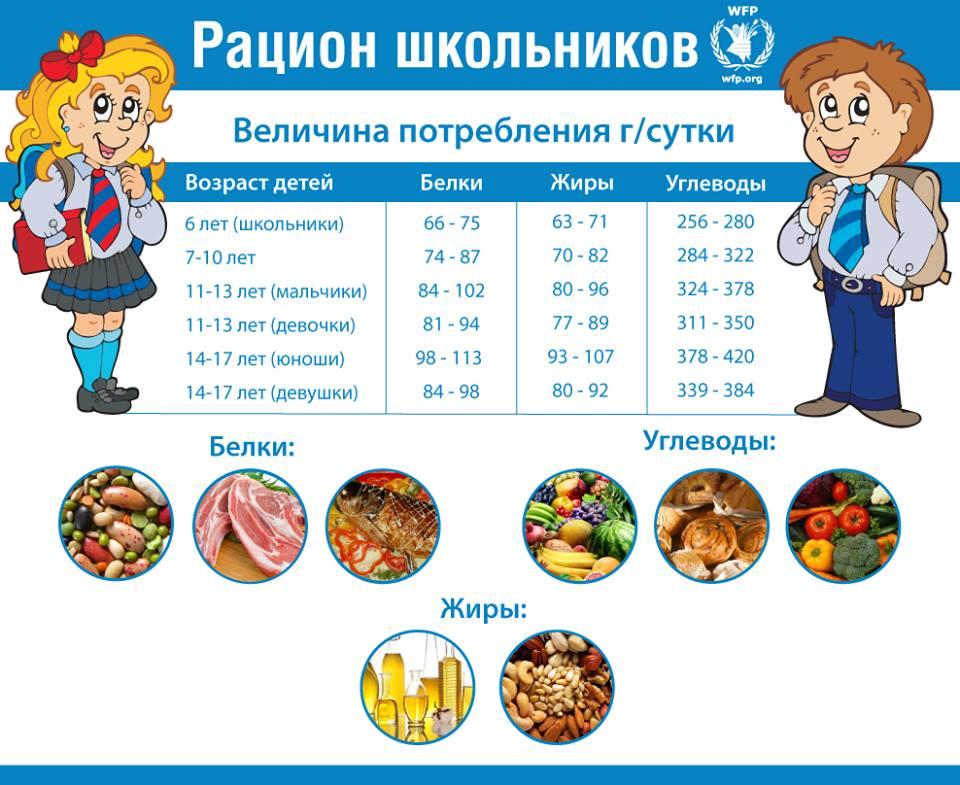 дневной рацион питания для похудения женщинам