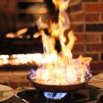 Фламбе — как высший кулинарный шик