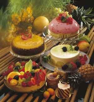 подача и сервировка десертов