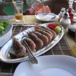 Креветки — столовый этикет
