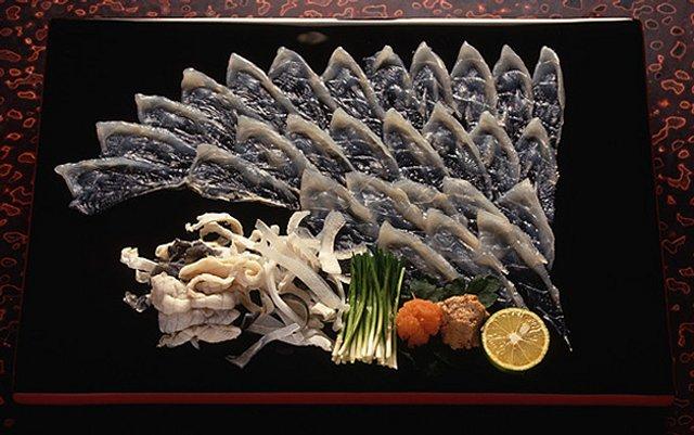 Фугу блюдо японской кухни