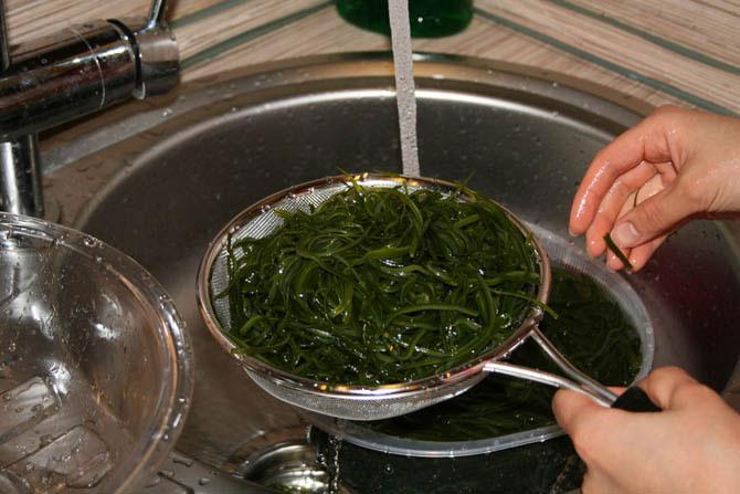сколько варить сухую морскую капусту