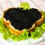 Икра чёрная- виды, характеристика,применение в кулинарии