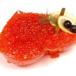 Икра красна –виды, характеристика,применение в кулинарии