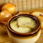 Луковый суп- технология приготовления, правила подачи