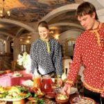 Обед « Русское застолье».